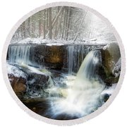 Enders Ice Square Round Beach Towel