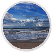 Endless Ocean Round Beach Towel