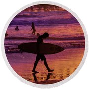Endless Summer 2 Round Beach Towel