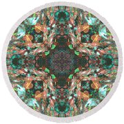 Enebro Round Beach Towel