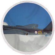 English Electric Canberra T4 Round Beach Towel
