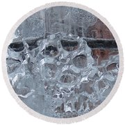 Engrenage De Glace / Iced Gear Round Beach Towel