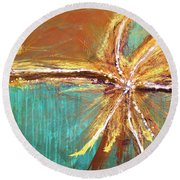 Entangled Round Beach Towel
