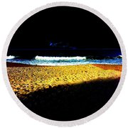 Entrance To Infinity Round Beach Towel by Eikoni Images