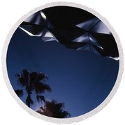 Epcot Abstract Round Beach Towel
