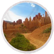 Epic Bryce Canyon Round Beach Towel
