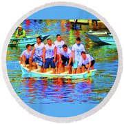Epiphany Boys Round Beach Towel