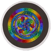 Epiphany Round Beach Towel