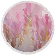 Equinox Full Moon Round Beach Towel