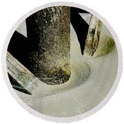 Erosion  Round Beach Towel