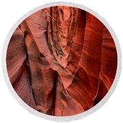 Escalante Red Slot Round Beach Towel
