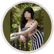Escorts Services In Chennai Round Beach Towel