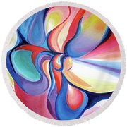 Essence Round Beach Towel