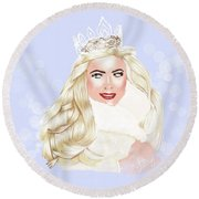 Essex Girl Round Beach Towel