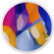 Jewel Round Beach Towel