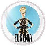 Eugenia Round Beach Towel