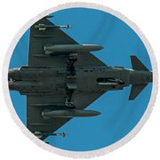Eurofighter Typhoon 2000 Profile Round Beach Towel