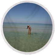 Everglades City 929 Round Beach Towel