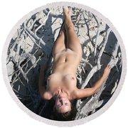 Everglades City Beauty 652 Round Beach Towel