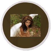 Everglades City Fl. Professional Photographer 4179 Round Beach Towel