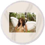 Everglades City Fl. Professional Photographer 4198 Round Beach Towel