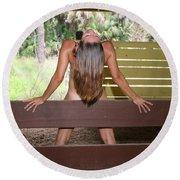 Everglades City Fl. Professional Photographer 817 Round Beach Towel