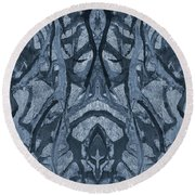 Evolutionary Branches Round Beach Towel