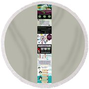 Excel Troubleshooting To Fix Corrupt/damaged Excel File Round Beach Towel