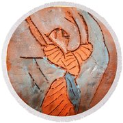 Exclaim - Tile Round Beach Towel