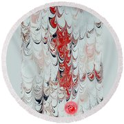Exclamation Round Beach Towel