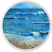Expectations Round Beach Towel