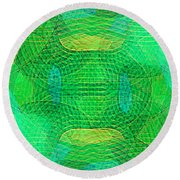 Explore Transdimensions 33 Round Beach Towel