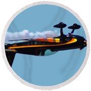 Extra 300s Stunt Plane Round Beach Towel