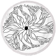 Eye Round Beach Towel