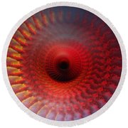 Eye'll Be Watching You Round Beach Towel