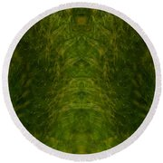 Eyes Of The Garden-2 Round Beach Towel
