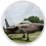 F-105 Thunderchief - 1 Round Beach Towel