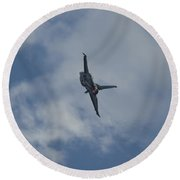 F-16 Afterburn Bank Round Beach Towel