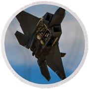 F-22 Raptor 3 Round Beach Towel