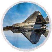 F-22 Raptor 4 Round Beach Towel