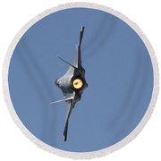 F-35a Round Beach Towel
