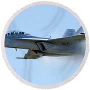 F18 - Barrier Round Beach Towel