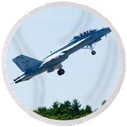 F18 - Take Off Round Beach Towel