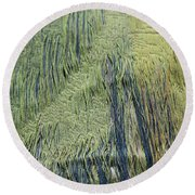 Fabric Texture Round Beach Towel