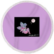 Faerie Magic Round Beach Towel