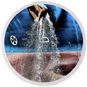 Fairchem Sword Round Beach Towel