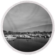 Fairfield Marina Round Beach Towel