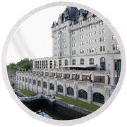 Fairmont Chateau Laurier - Ottawa Round Beach Towel