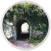 Fairy Bridge Round Beach Towel