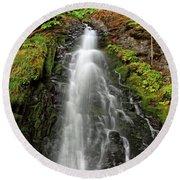 Fall Creek Falls 3 Round Beach Towel